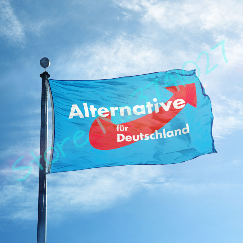alternative afd <font><b>flag</b></font> <font><b>FLAG</b></font> <font><b>90x150cm</b></font> 100D polyester custom <font><b>flag</b></font> banner image