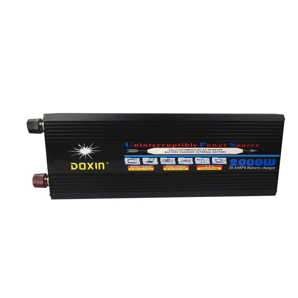 off grid 2000w dc24v to ac220v converter ups modified wave power inverter 2kw 2000w dc24v input to ac220v output modified wave power inverter for home use