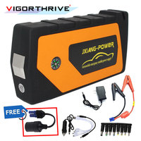 Multi Function Car Jump Starter Battery Booster 12V Emergency Starting Device For Car Output Car Charger Power Bank Portable|Jump Starter| |  -