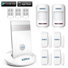 G15 Bezprzewodowy GSM System Alarmowy Domu Dom Bezpieczeństwa IOS Android APP Kontrolowane Systemach Alarmowych Włamywacz Voice SMS Automatycznego Wybierania