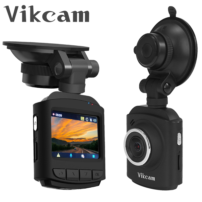 Ambarella A12 Smart Car DVR Vikcam DR60 Dash Camera 177 Degree Wide Angle 2.0