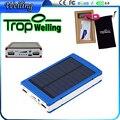 Tropweiling powerbank 12000 mah cargador de móvil Solar cargador solar power bank cargador portátil de batería externa para los teléfonos 18650