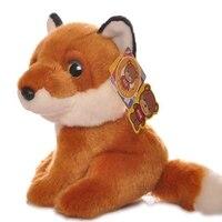 Linda Olhos Grandes Raposas Vermelhas Presentes de Aniversário Brinquedos de Pelúcia Boneca de Brinquedo Criança de Boa Qualidade