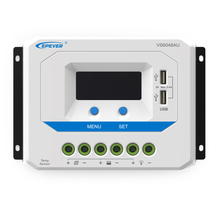 1pc x VS6048AU 12V 24V 36V 48V PWM 60A EPSolar PWM Viewstar Solar system Kit Controller Regulators LCD with USB