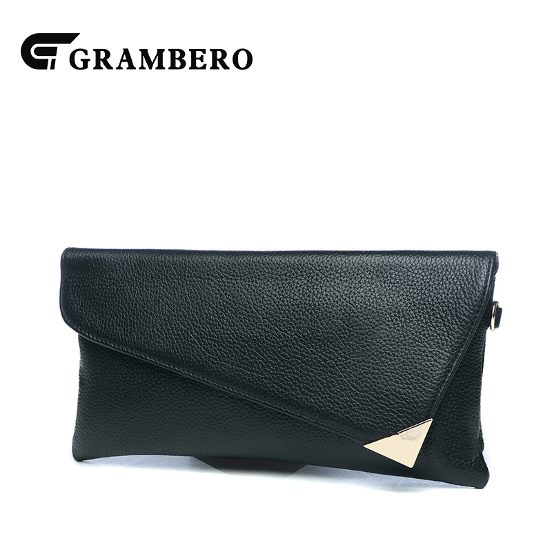 Fashion Solid Color Soft Genuine Leather Women Clutch Wallet Top Leather Cover Envelope Shoulder Bag Banquet Crossbody Bags Gift casual solid color top leather shoulder bag heart shaped decoration cover fashion women clutch wallet crossbody messenger bag