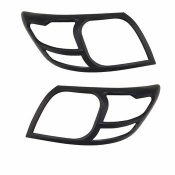 2pcs ABS HEAD LAMP COVER Car Chrome Strips FOR TOYOTA HILUX VIGO 2012 2013 2014 2015  Accessories Headlamps Cover Trim