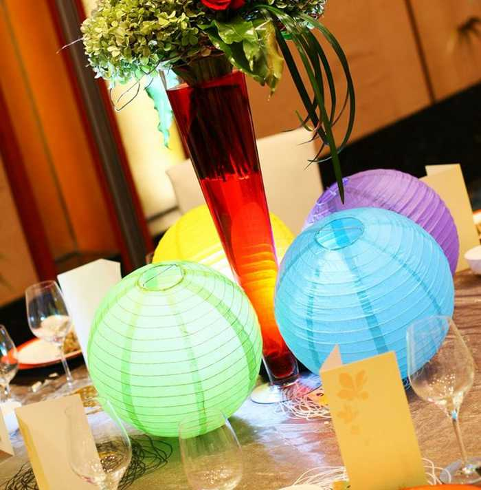 10-15-20-25-30-35-40cm เทศกาลคริสต์มาสฮาโลวีนโคมไฟเด็ก Happy วันเกิดงานแต่งงานตกแต่งโคมไฟกระดาษจีน Lampion