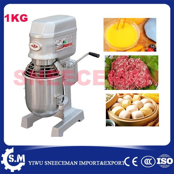 10L homeuse dough mixer machine with 1kg flour pizza dough mixer bakery equipment spiral dough mixer