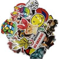 1300 pcs Skateboard Stickers Graffiti Laptop Sticker Luggage Car Decals Mix Lot