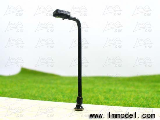 mdoel lamp, T41 lamppost for train layout HO scale.model building lamp, scale lamp,lamp