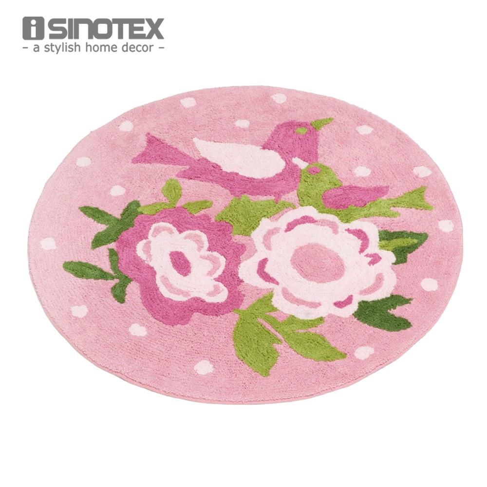 shabby chic floor rug carpet for kids room 100 cotton. Black Bedroom Furniture Sets. Home Design Ideas