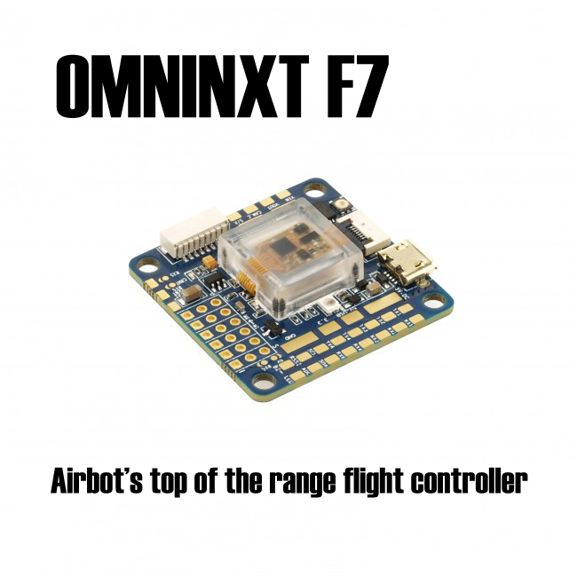 OMNINXT F7 Airbot top of the range flight controller based on the Omnibus F7 v2 for quadcopter omnibus aio f7 v2 flight controller board and 4 pieces wraith32 32bit blheli esc for fpv quadcopter drone frame