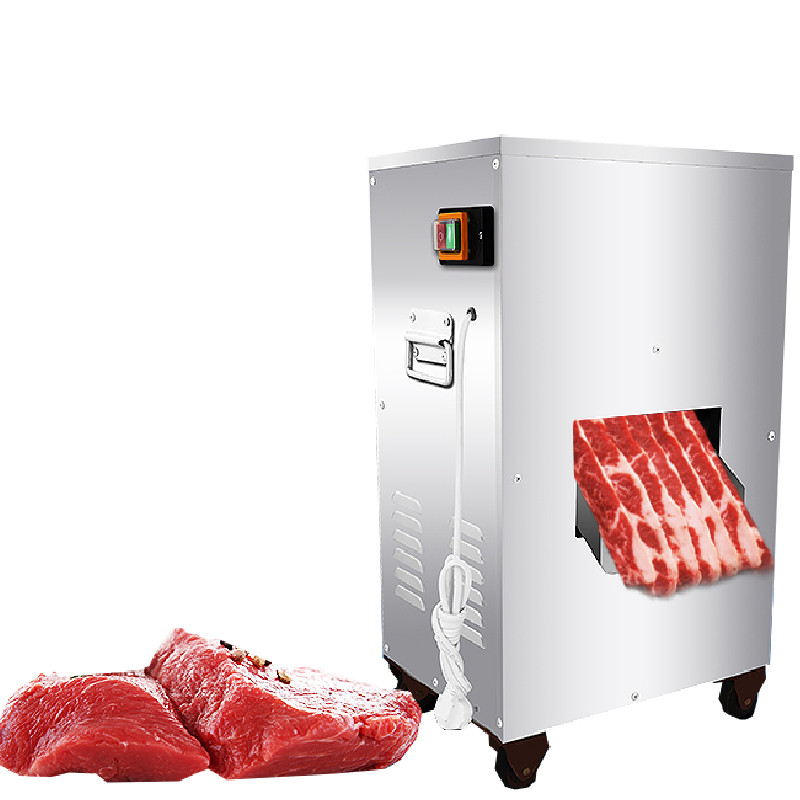 BEIJAMEI 2018 Powerful 2200W 300KG/H meat cutting machine commercial vertical meat slicer cutter machine price стоимость