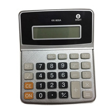 New Desktop Calculator 8 Digits Display Business Electronic Calculator with Button Battery for Office Home EM88