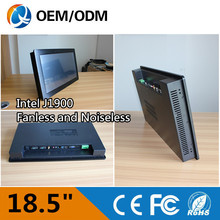 Fanless pc 18.5″ Resolution 1366×768 embedded tablet pc industrial touch screen panel pc with Inter j1900 1.99GHz
