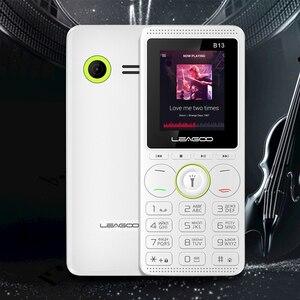 Image 4 - LEAGOO B13 Funktion Handy 1,77 32 MB + 32MB Senior Kinder Mini Telefon Russische Tastatur 2G GSM Push Taste Schlüssel Handy