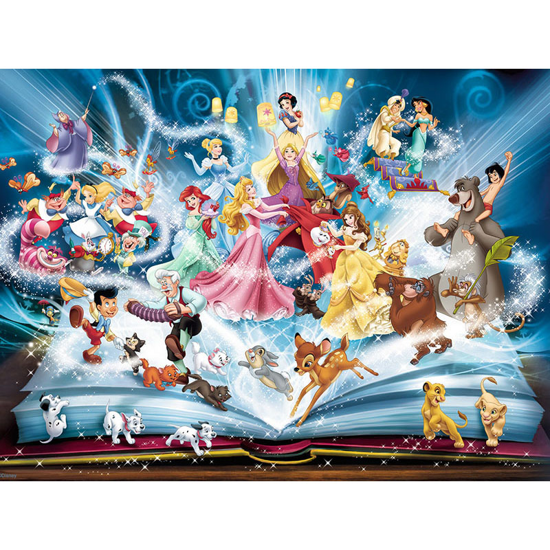 5D Diamond Embroidery Sale fantasy cartoon book Full Square Diamond Painting Cross Stitch Kit Diamond Mosaic Crystal KBL(China)