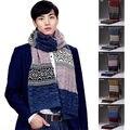 180 cm de comprimento das unisex Das Mulheres Dos Homens Casal Scraf Cachecóis de lã Quente Knitting Inverno Quente Longo Lenço
