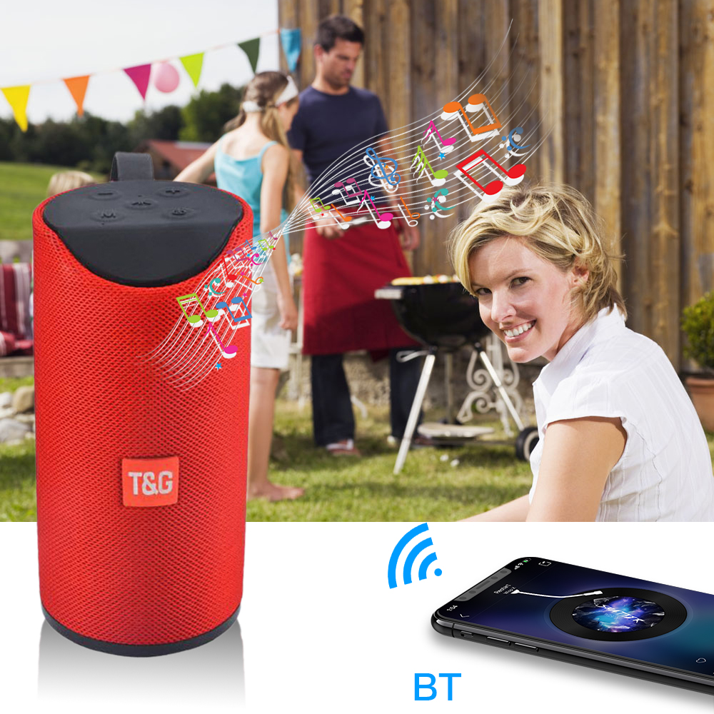 New TG113 Wireless Bluetooth Speaker Super Bass with Micro