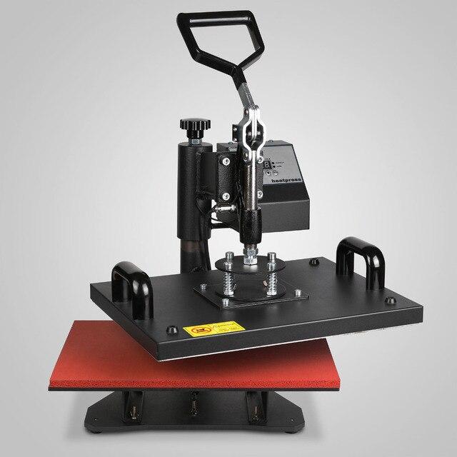 Digital Heat Press Machine 9IN1 T-shirt Sublimation Printer Tranfer Included Mug Hat Plate Press