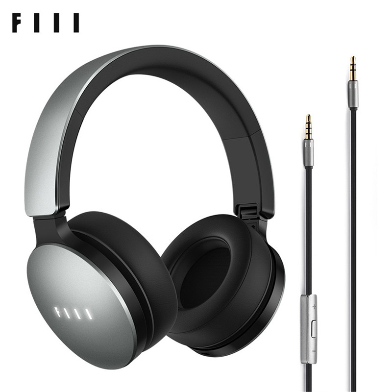 FIIL Music Wired Headphones with Microphone Foldable ...