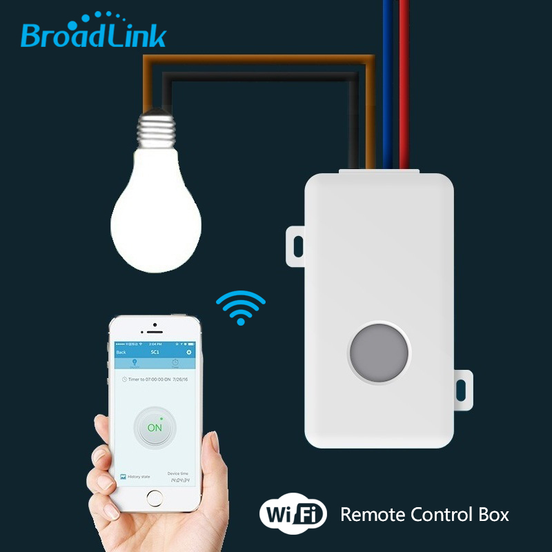 2018 Broadlink Fernbedienung Wifi Smart Home automation/Intelligente Wlan-zentrum für APP Smart Home Steuert 10A/2500 Watt