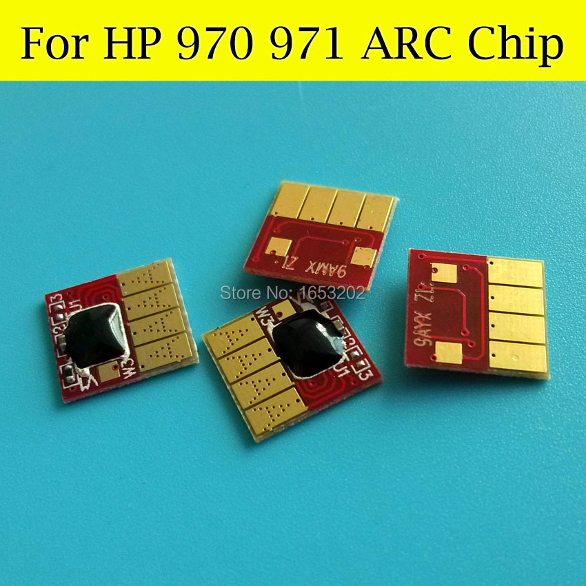 1 Set LWP1CN1548AR ARC Chip For HP 970 971 With For HP Officejet Pro x451dn x451dw x476dw x476dn x576dw x551dw Printer for hp 970 970xl ciss ink cartridge permanent chip for hp officejet pro x451dn x551dw x476dn x576dw printer