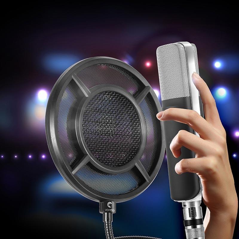 Mikrofonstativ Temperamentvoll 6 Zoll Doppel Schicht Studio Windschutz Pop Filter Maske Schild Für Mikrofon Mic Gdeals Die Nieren NäHren Und Rheuma Lindern