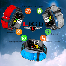 2019New Bluetooth Connection Smart Bracelet Sedentary Reminder Mobile Stepping Heart Rate Monitoring Smart Bracelet Sports Watch