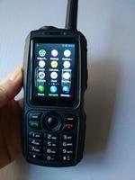 Новое обновление сети с радио, GPS, WiFi двухканальные рации 50 км zellow Android смартфон bluetooth WAP портативный радио