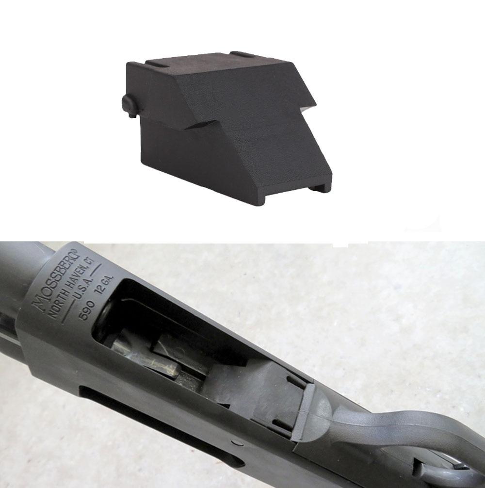 Magorui Taktis Mini Klip Minishell Adaptor Aksesoris untuk Opsol 12ga Mossberg 500 590 590A1 & Maverick 88 Model