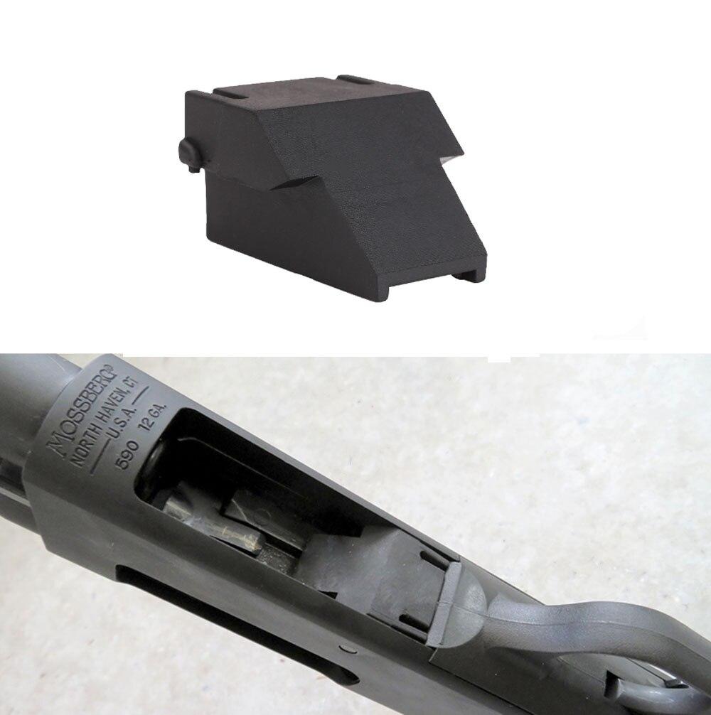 Magorui tático mini-clipe minishell adaptador acessórios para opsol 12ga mossberg 500 590 590a1 & maverick 88 modelo