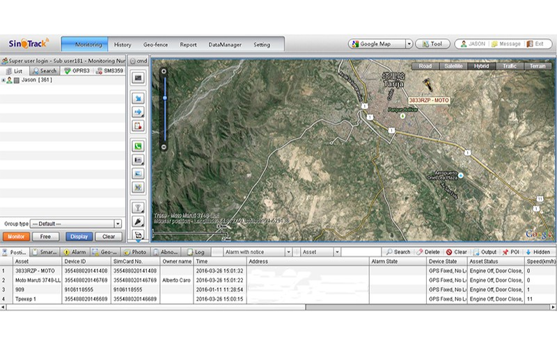 software gps tracking