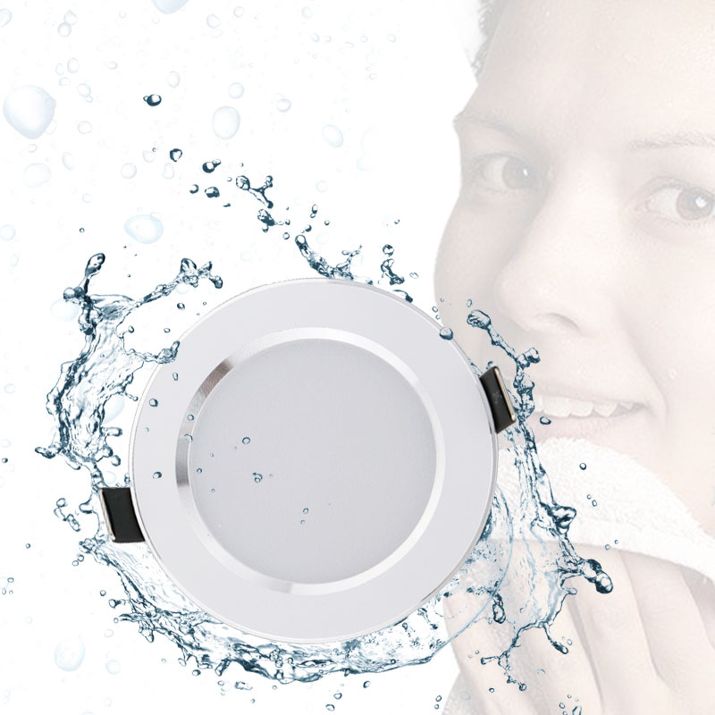 10pcs Waterproof LED Downlight LED Downlight Spot Light 15W/12W/9W/7W/5W Super Bright AC220V/110V Recessed Ceiling Lamp