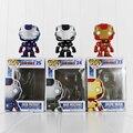 "New Figurine Funko Pop The Avengers Iron Man 3 Action Figure Toys PVC Doll Kids Toys 4""10cm"