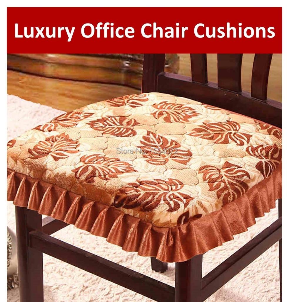 43 x 41 cm lujo cojines para sillas de oficina con bridas, falda \' s ...