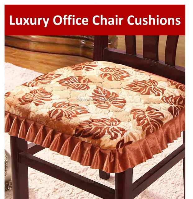 43x41cm Luxury Office Chair Cushions With Ties Skirt S Fabric Slip Resistant Dining Cushion Pads C3 8