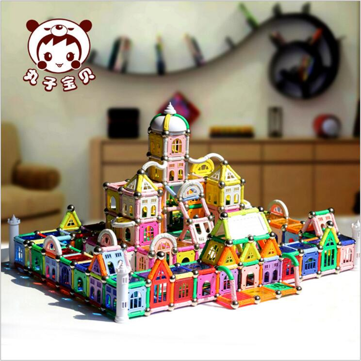 518pcs Magnetic Toy High quality Child Early Head Start Training puzzle Amazing Magnetic Building Toy Magnets Magnetic Stick toy цена и фото