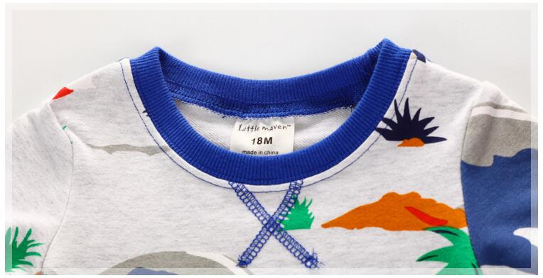 Little-maven-baby-boys-clothes-autumn-children-terry-fabric-long-sleeve-O-neck-Knitted-dinosaur-park-print-thick-t-shirt-CT046-1
