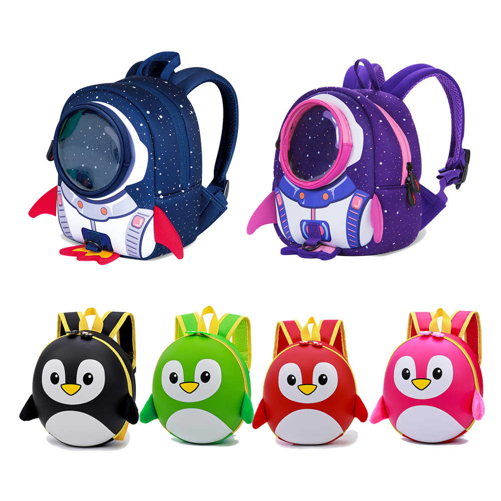 Cute Penguin Children backpacks sac enfant maternelle garcon Kids Baby Girl school backpack Summer Ventilation Child School Bag