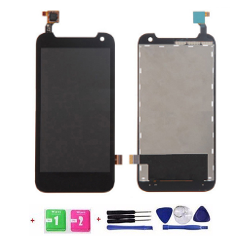 New 100% Test LCD Screen LCD Display Touch Screen Digitizer Assembly Replacement For HTC Desire 310 Black +Tools