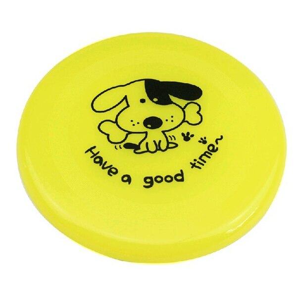 Di grandi dimensioni Cucciolo di Cane di Formazione GIOCATTOLO di Plastica Fetch Flying Disc Frisby