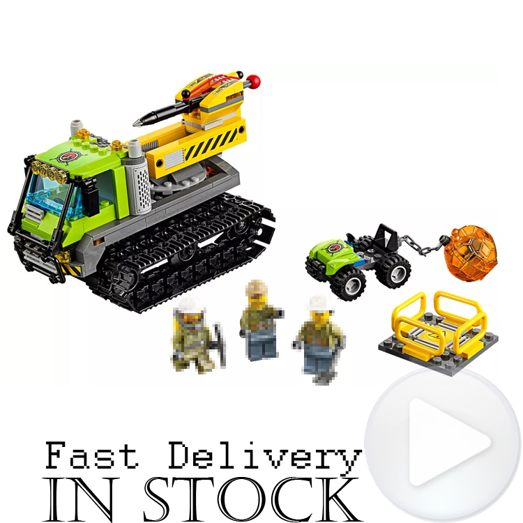 Lepin 02003 350PCS CITY Volcano Explorers Crawler Building Blocks Bricks Educational Toys for children Gifts Compatible 60122 hot sembo block compatible lepin architecture city building blocks led light bricks apple flagship store toys for children gift