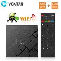 HK1 Mini Android 8.1 Smart TV BOX Quad Core RK3229 2GB 16GB Set Top Box 4K 2160P 3D Wifi Media player PlayStore Youtube IP TV