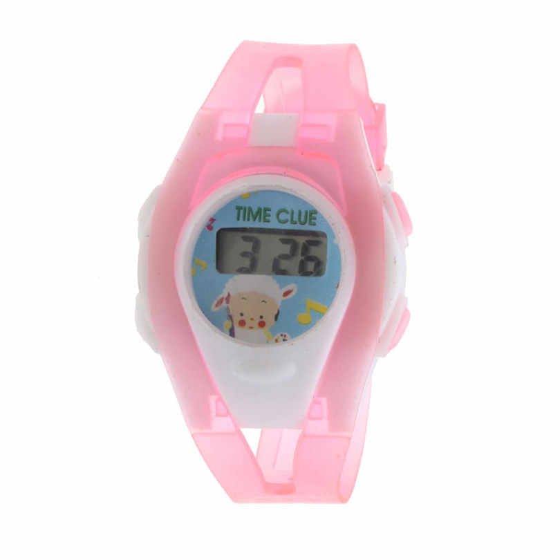 2019 Kids Watch Student  Smart Sport Time Electronic Military Digital LCD Boy Girl Wrist Watch With Stopwatch #4m14