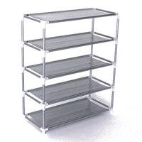5 Layers removable door shoe storage cabinet shelf DIY shoes storage