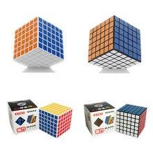 Shengshou 6x6x6 Магия Головоломка Куб Профессиональный Скорость 6*6*6 Куб Блоки 68 мм Cubo магико с Глянцевая/Матовая Наклейка Souptoys Подарок