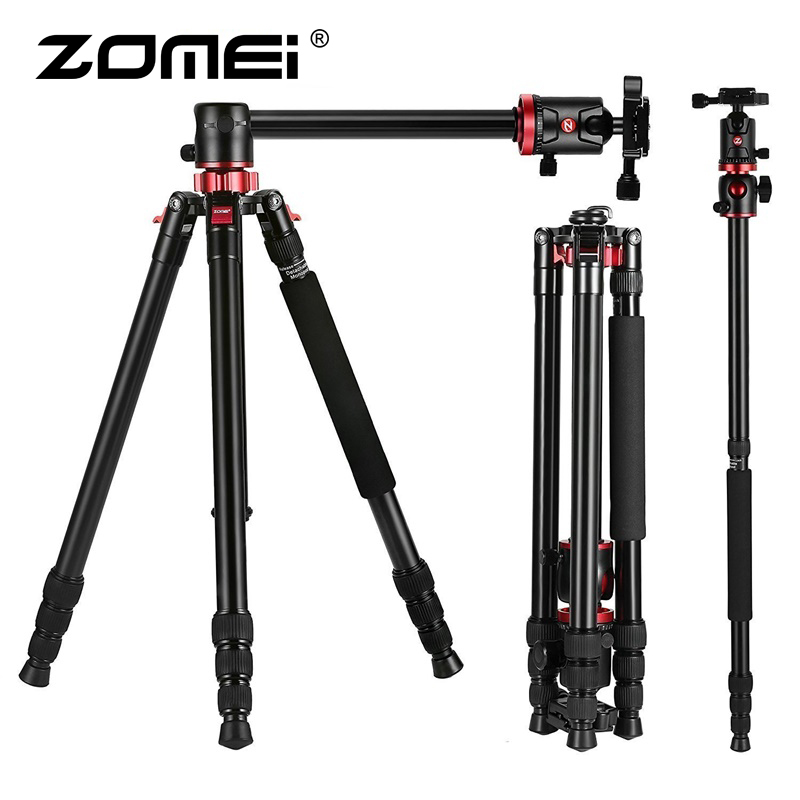 ZOMEI M8 Camera Tripod Portable Monopod Overhead -1