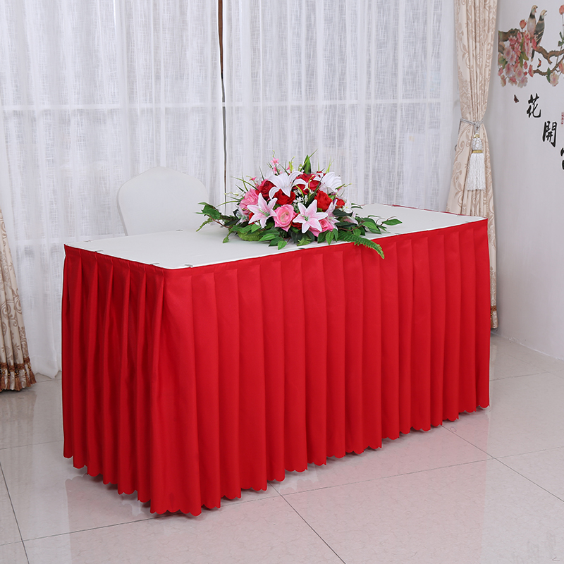 Table skirting designs luxurious satin table skirting designs for gallery of top luxury customized wedding banquet hotel tablecloth meeting sign in a buffet table skirt cover table skirt tablecloths from home u garden with watchthetrailerfo