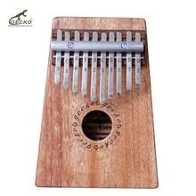 Gecko  K10M  10 Key  Kalimba African Thumb Piano Finger Percussion Keyboard